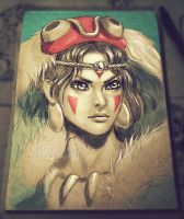 Princess Mononoke by Yuuza