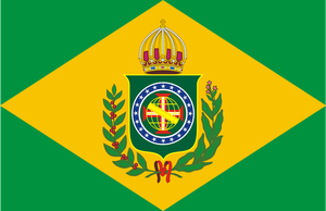 Flag of the Empire of Brazil by LlwynogFox
