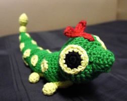 Crocheted Caterpie
