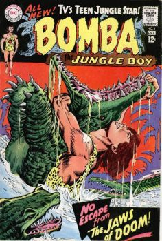 Bomba the Jungle Boy  #1 by derrickthebarbaric