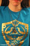 Pendant - TriForce (with Cassandrina) (OLD MODEL) by PeregrineStudios