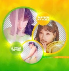 SNSD Taeyeon [My Voice] Png Pack by AngellBeats
