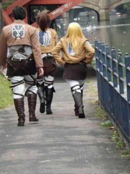 AOT - strutting our stuff by hoppinmadbek