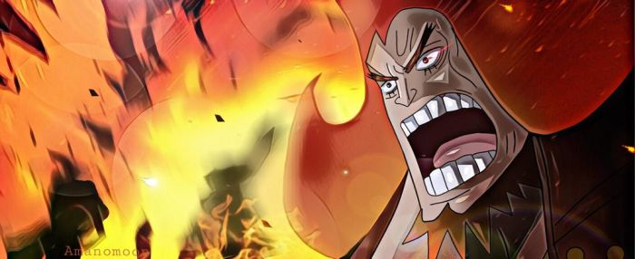 One Piece 897 Charlotte Oven Germa Explosion Color by Amanomoon
