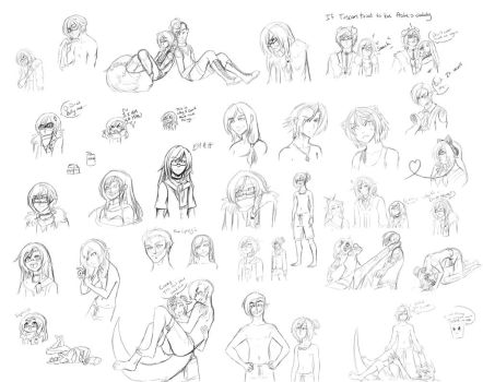 Another Sketch dump! by Versaill