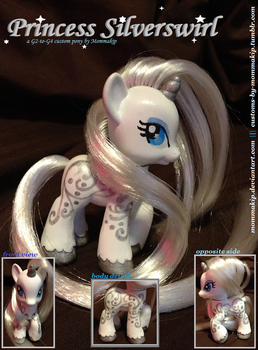 Princess Silverswirl G2-G4 Brushable by Mommakip
