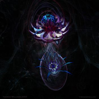 Cosmic Lotus by biomorphica