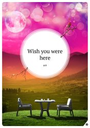 Wish you were here by mikaILL