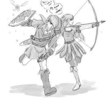 Commission Link and Ren by crazyfreak