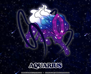 Aquarius Constellation - Suicune by Shinoharaa