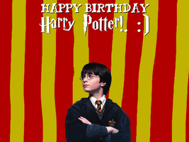 Happy Birthday Harry Potter! by Nolan2001