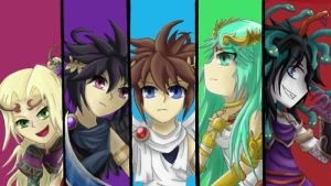 Kid Icarus: Uprising - 4 Year Anniversary by ChibiSkeven