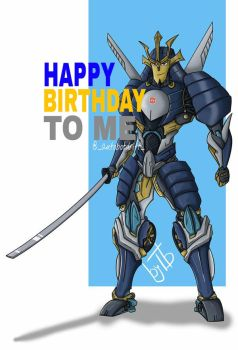 IT'S MY BIRTHDAY!!! by transformers--wolves