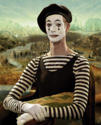 Mime-a-lisa by JTampa