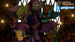 [DL] Enhanced Mane 6 (Bat Version) by Stefano96