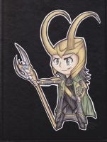 Loki Chibi by TurtlesaurRex