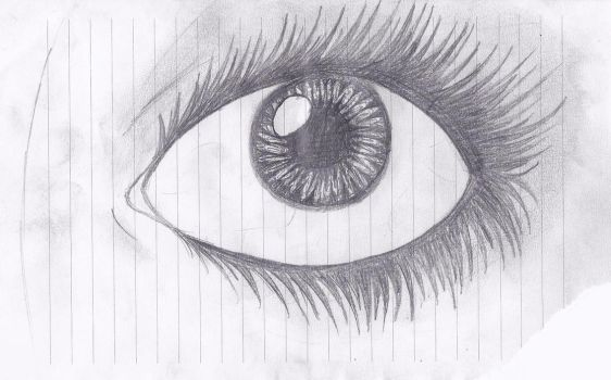 Eye doodle from class by were-vampiregrl98