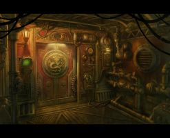 Steampunk Door by BMacSmith