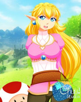 [F] Legend of Peach by xenokurisu