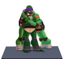 Raph Will Kill You Two by OrangeBlueCream
