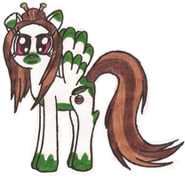 MLP: Evergreen (redesigned) by Greenpolarbear47