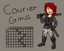 Courier Gina by Opal-Kittens