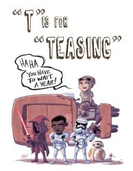 T Is For Teasing by OtisFrampton