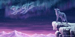 Spirits in the Sky by Vawie-Art