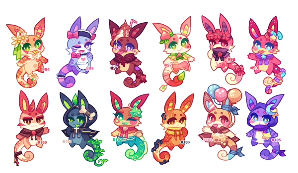 (CLOSED) Charminis Army #7 by scarletscreations