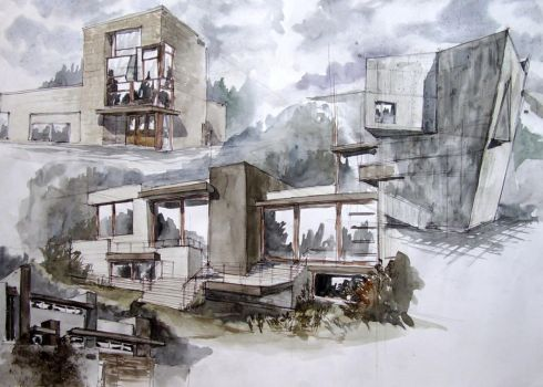 Architecture now sketches by magic-ravioli