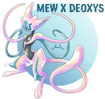 Mew X Deoxys  [closed] by Seoxys6