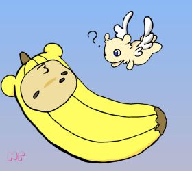 Bananabear by MilkToothCuts