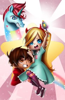 Star VS The Forces of Evil by Rawder-Beoluve