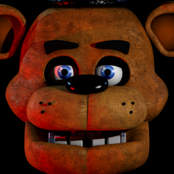FNaF1 Freddy Icon (WIP) by GaboCOart