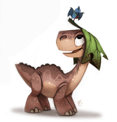 Day 737# Littlefoot by Cryptid-Creations