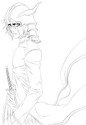 ulquiorra schiffer chapter cover 195 lineart by benderZz