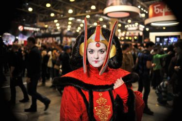 My Queen Amidala cosplay by MadHatters-Wife