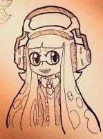 My Friends squid by BlueAceSparkle