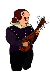 Bill the Bard by i-cant-draw-but-hey