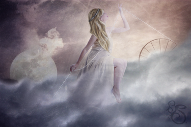Frigg, the clouds maker by BrightSunny