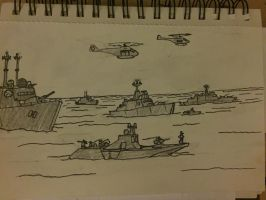 Mobilizing The task force. by GalacticVikings