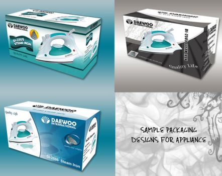 Sample Appliance Packaging by cooluani