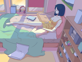 drawing with mouse - bedroom 2 by drawingwithmouse101
