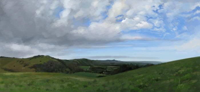 South Downs by froggywoggy11