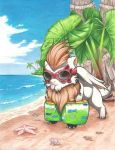 Nall at the Beach by praxcrown5