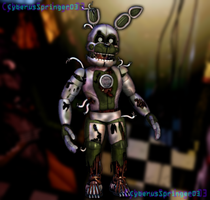 Funtime Springtrap! by CyberusSpringer03
