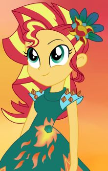 LoE Sunset Shimmer by Bloom-Tazza93