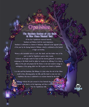 Opalshire Holiday Lore - Samhain by DeathByChopsticks