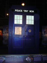 Exterior of 11th Doctor TARDIS by tyw7