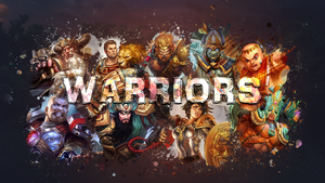 SMITE - Warriors Wallpaper (Bellona Edition) by Getsukeii